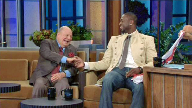 Dwyane Wade Raps, Recruits 84-Year-Old Comedian Don Rickles on 'The Tonight Show'