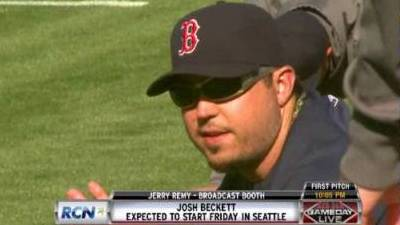 Josh Beckett Throws Side Session, Nothing Stands In Way of Return