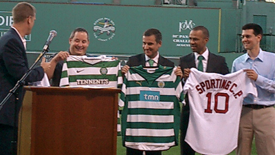 Celtic FC, Sporting CP Soak in Rich History of Fenway Park Before Adding New Chapter