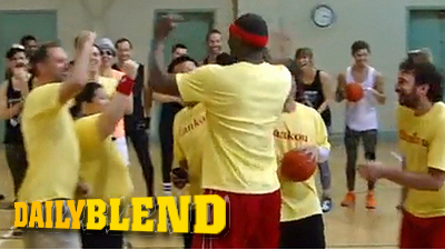 Ron Artest Gets Taken to School by Hipsters in Dodgeball