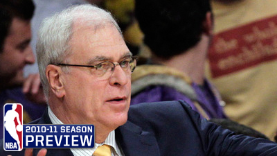 Los Angeles Lakers Favorites to Give Phil Jackson Fourth Three-Peat