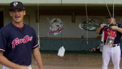 Pawtucket Red Sox Reliever Tommy Hottovy Gives Insider Tour of McCoy Stadium