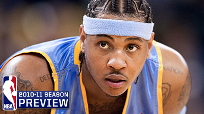 Carmelo Anthony's Contract Year Puts Pressure on Denver Nuggets