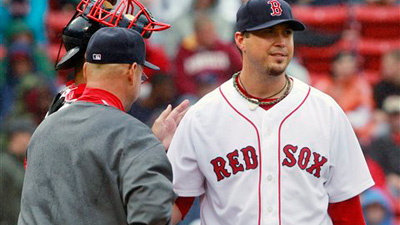 Josh Beckett Delivers Big Win Against Seattle But Still Unable to Avoid Big Inning