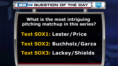 What Is the Most Intriguing Pitching Matchup in This Series?