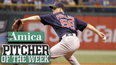 Jonathan Papelbon Back in Business, Earns Amica Pitcher of the Week Honors