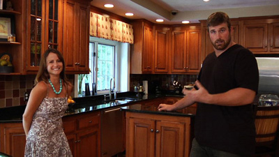 Take an Insider Tour of Patriots Tackle Matt Light's Home
