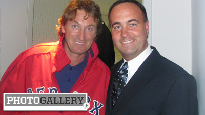 Don Orsillo Snaps Photos With Big-Name Celebrities at Fenway Park