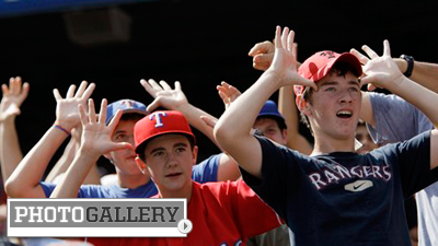 'Claws and Antlers' Craziness Heading to ALCS As Rangers Ride Own Version of Rally Monkey