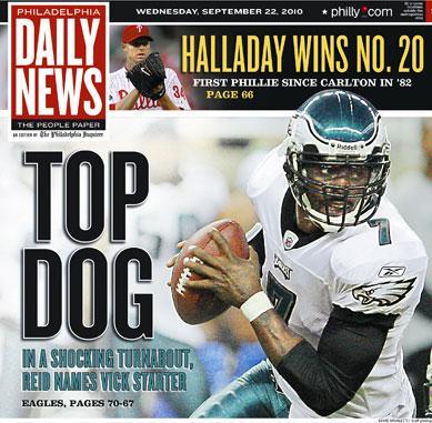 Philadelphia Daily News Deserves Criticism For Michael Vick's 'Top Dog' Headline