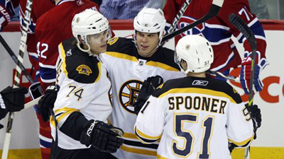 Bruins Overpower Carey Price in Exhibition Opener, Take 4-2 Win Over Montreal