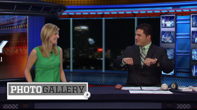 'NESN Daily' Co-Host Uri Berenguer Brings an Exciting Spark to Sports Coverage