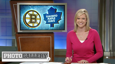 Kathryn Tappen Delivers the Latest New England Sports News With a Smile