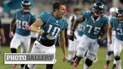 Jay Cutler Hits Turf Nine Times, Josh Scobee Kicks 59-Yard FG to Highlight NFL Week 4
