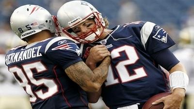 Aaron Hernandez Developing as Top Receiving Option for Tom Brady