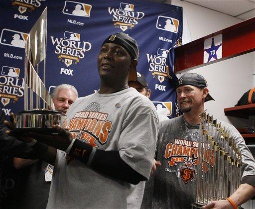 Edgar Renteria Ready to Bring MVP Trophy to Giants' World Series Parade