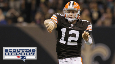 Patriots Will Look to Rattle Colt McCoy, Prevent Easy Passes to Ben Watson