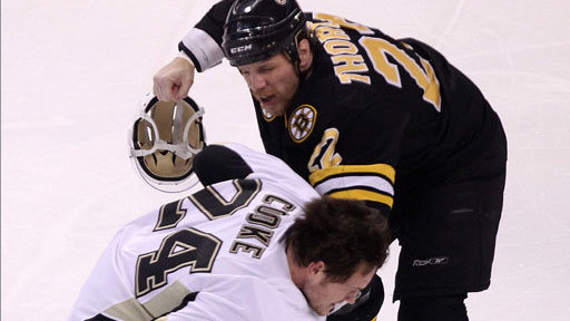 Shawn Thornton, Milan Lucic Keeping Matt Cooke Incident in Mind, But Playing for Win, Not Payback in Pittsburgh