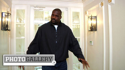 Shaquille O'Neal Leads Wild Goose Chase As He Searches for a New Home in Boston (Photos)
