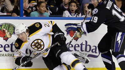 Tyler Seguin's Wing Play Helps Ease Pain of Otherwise Ugly Bruins Loss in Tampa Bay