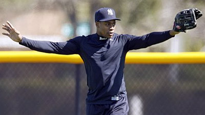 Curtis Granderson to Start in Center Field for Yankees