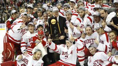 Boston University Headlines Top 10 Frozen Four Moments