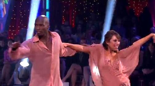 Chad Ochocinco and Cheryl Burke Rumba the Night Away