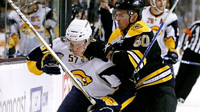 Bruins Expecting Tight Defense, Good Goaltending From Sabres