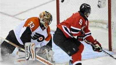 Devils Score Two Goals in Third Period, Even Series With Flyers With 5-3 Win