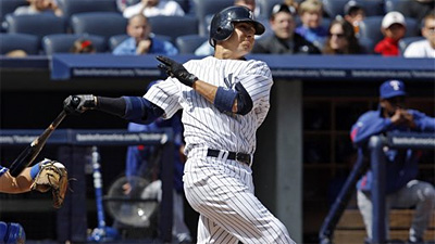 Mark Teixeira Hits First Homer, Andy Pettitte Pitches Yankees Past Rangers