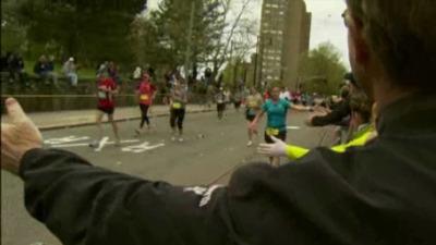 Fans Thrilled to Enjoy Boston Marathon on Patriots' Day