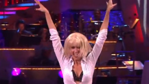 Erin Andrews Channels Uma Thurman in 'Pulp Fiction' on 'Dancing With the Stars'