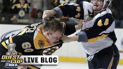 Bruins Live Blog: Miroslav Satan Scores to Propel Bruins to 3-2 Double-Overtime Win