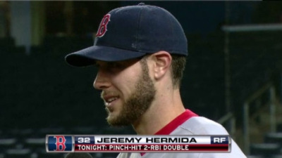 Jeremy Hermida Plays Hero as Red Sox Rally For Win