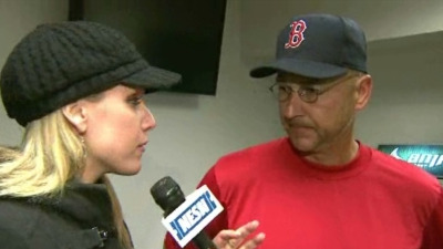 Terry Francona: 'There Was Communication' Between Umpire and John Farrell
