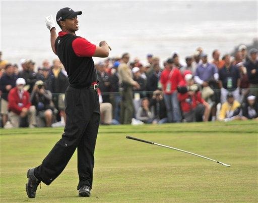 'Tantrum' Tiger Woods Keeps Up Immature Ways Despite Promising US Open Comeback