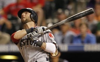 Dustin Pedroia Smacks Three Home Runs as Red Sox Defeat Rockies 13-11 in 10 Innings