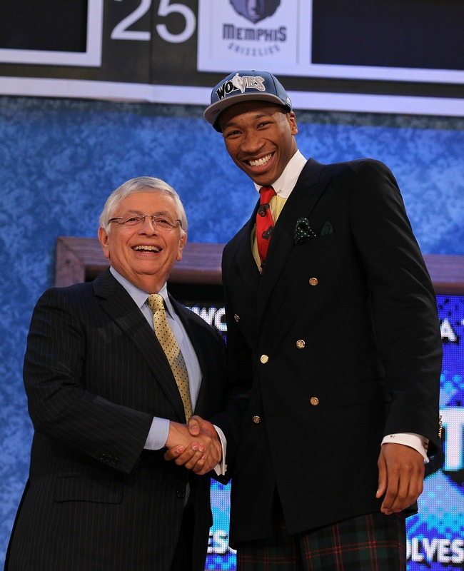 After His NBA Draft Suit, Wesley Johnson Can Use New Paycheck to Hire Stylist