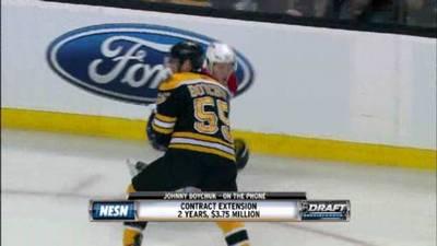 Johnny Boychuk Ready to Help Bruins Make Run at Lord Stanley