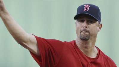 Tim Wakefield Pitches Eight Innings to Record His First Home Victory This Season