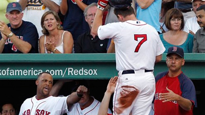 J.D. Drew Drives In a Pair, Red Sox Down Orioles 9-3
