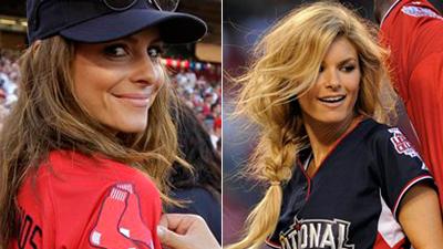 Maria Menounos, Marisa Miller Showcase Skills in Celebrity All-Star Game