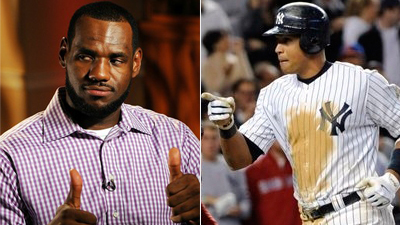 If LeBron James Draws Comparison to Alex Rodriguez, Is That a Good Thing?