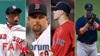 Which Pitcher Will Be Most Important to Red Sox' Run to Playoffs?