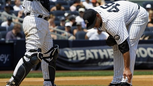 Old Age, Pitching Rage Plague Yankees Starters Andy Pettitte, A.J. Burnett
