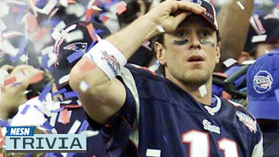Test Your Knowledge About Drew Bledsoe, Zdeno Chara and More With NESN Trivia