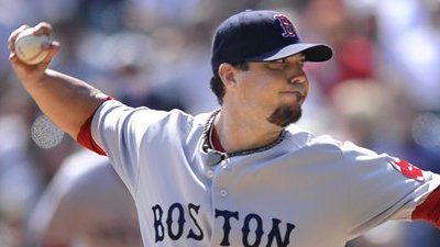 Josh Beckett, Red Sox Shoot for Sweep of Angels in Afternoon Baseball