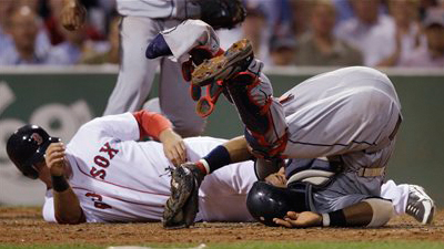 Ryan Kalish Unsettled After Ugly Collision With Carlos Santana