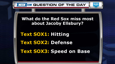 What Do the Red Sox Miss Most About Jacoby Ellsbury?