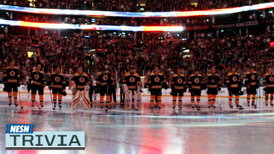 Test Your Knowledge of the Bruins' Roster